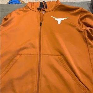 Texas Longhorn Nike XL zip up hoodie